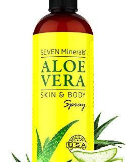 Organic Aloe Vera Spray for Body & Hair - From Freshly Cut Aloe Plant