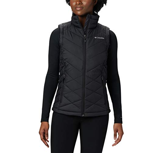 Columbia Women's Heavenly Vest, Black, Large