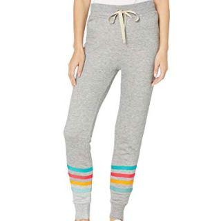 Splendid Women's Jogger Sweatpant Casual Pant Bottom, Heathergrey