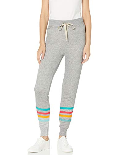 Splendid Women's Jogger Sweatpant Casual Pant Bottom, Heathergrey