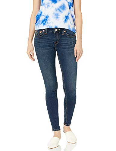 True Religion Women's Plus Size Jennie Curvy Skinny Jean