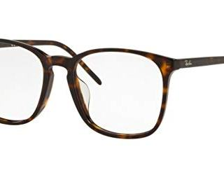 Ray-Ban Asian Fit Square Eyeglass Frames Non Polarized Prescription Eyewear