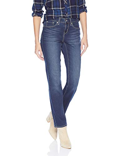 Signature By Levi Strauss & Co Women's Curvy Straight Jeans