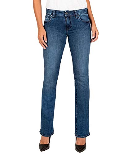 KUT from the Kloth Women's High-Rise Natalie Bootcut Denim Jeans