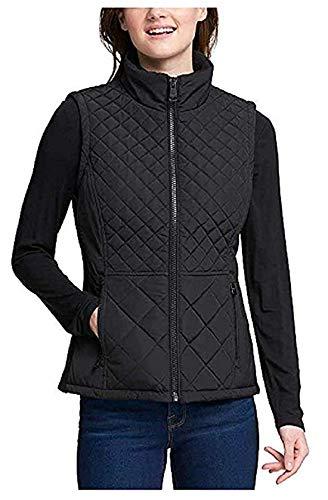 Andrew Marc Ladies' Quilted Vest (XXL, Black)