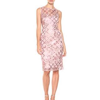 Adrianna Papell Women's Sequin Short Dress
