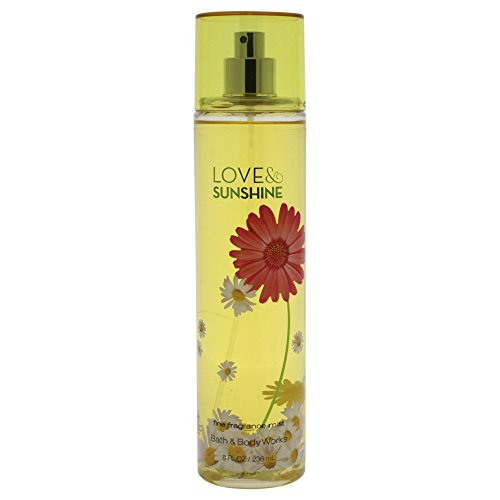 Bath & Body Works Fine Fragrance Mist for Women, Love and Sunshine