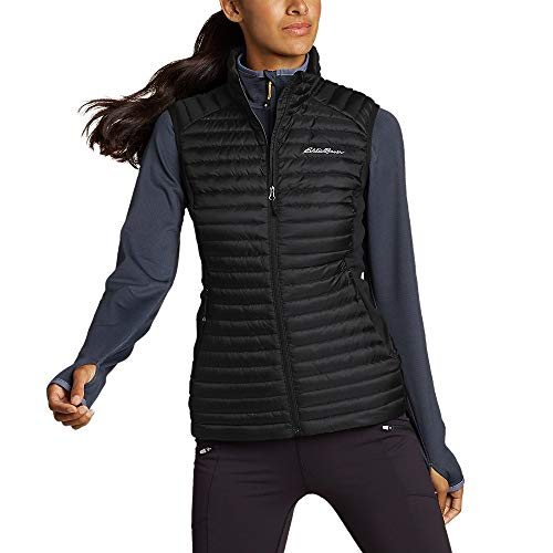 Eddie Bauer Women's MicroTherm 2.0 Down Vest, Black Regular