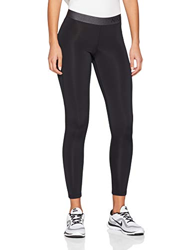 Nike Women's Pro Warm Tights Black/Dark Grey Size Medium