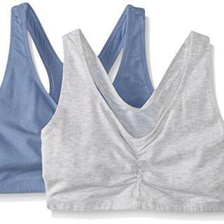 Hanes Women's Comfort-Blend Flex Fit Pullover Bra (Pack of 2)