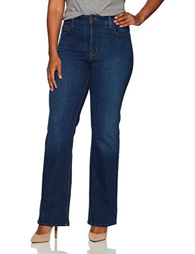 NYDJ Women's Plus Size Barbara Bootcut Jeans, Cooper