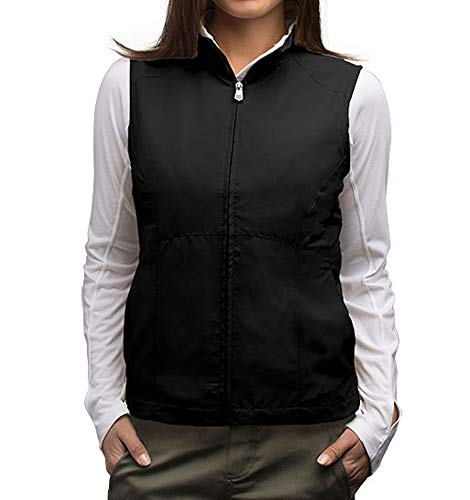 SCOTTeVEST RFID Travel Vests for Women 18 Pockets - Black Utility Vest for Women