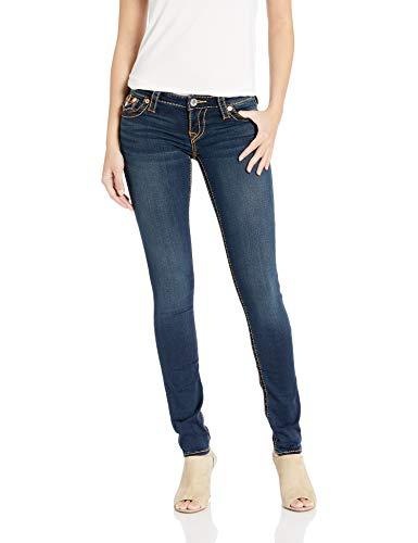 True Religion Women's Stella Low Rise Skinny Fit Jean, Indigo Upgrade