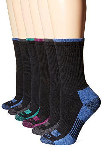 Dickies Women's Dritech Advanced Moisture Wicking Crew Sock