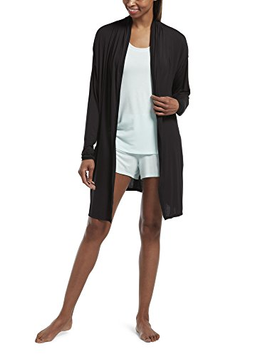 HUE Women's SleepWell with TempTech Sleep Cardigan Robe