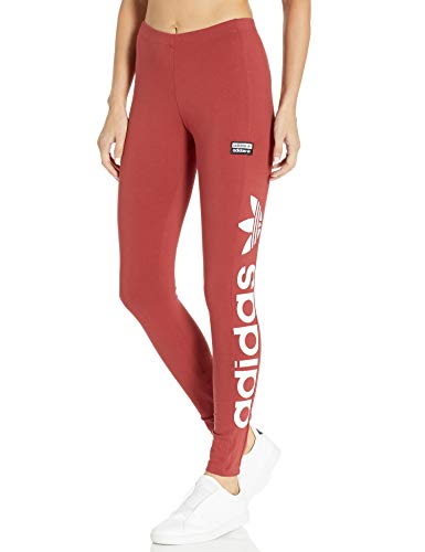 adidas Originals Women's Tight, Mystery Red/White