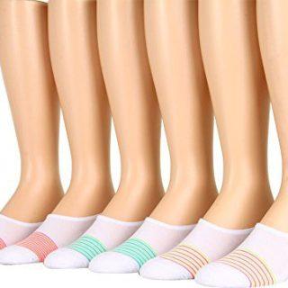 Converse Made for Chucks 6-Pair Pack Multi Stripes 4-10 Women's Shoe