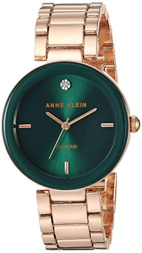 Anne Klein Women's Quartz Metal and Alloy Rose Gold-Toned Dress Watch