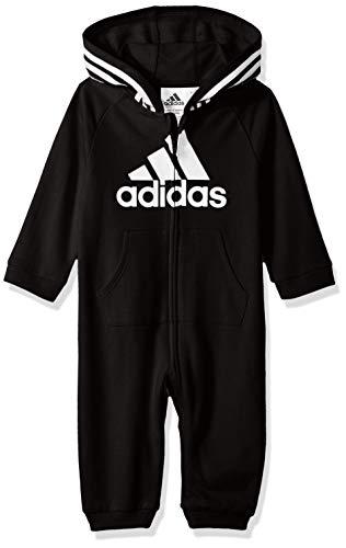 adidas Baby Girls Coverall, Black ark