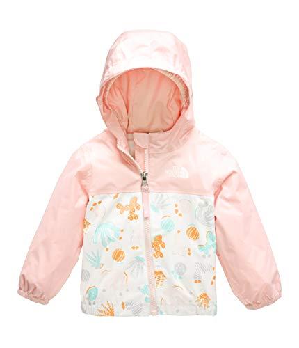 The North Face Infant Zipline Rain Jacket, TNF White Cactus Lino Print