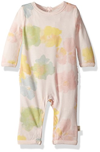 Burt's Bees Baby Baby Girl's Romper Jumpsuit, 100% Organic Cotton One-Piece