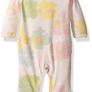 Burt's Bees Baby Baby Girl's Romper Jumpsuit, 100% Organic Cotton One-Piece