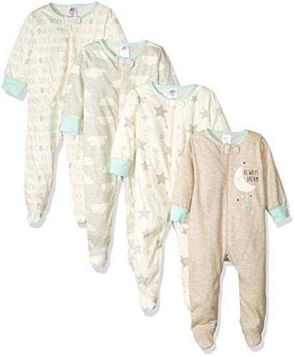 GERBER Baby 4-Pack Sleep N' Play, Elephants