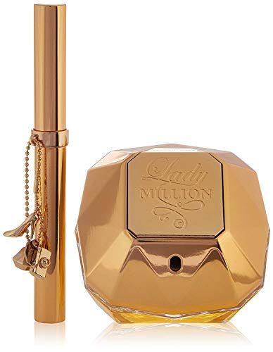 Paco Rabanne Lady Million 2 Piece Set (2.7 Ounce Eau De Parfum Spray )
