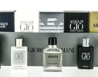 Armani 5 Piece Set For Men (Code 4ml/Diamonds 4ml/Adg 5ml/Green)