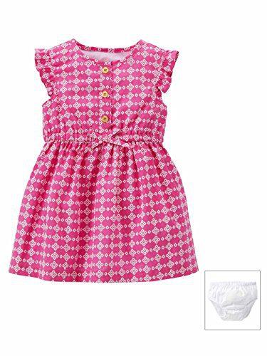 Carter's Baby Girls' Geometric Dress (Baby) - Pink - 3 Months