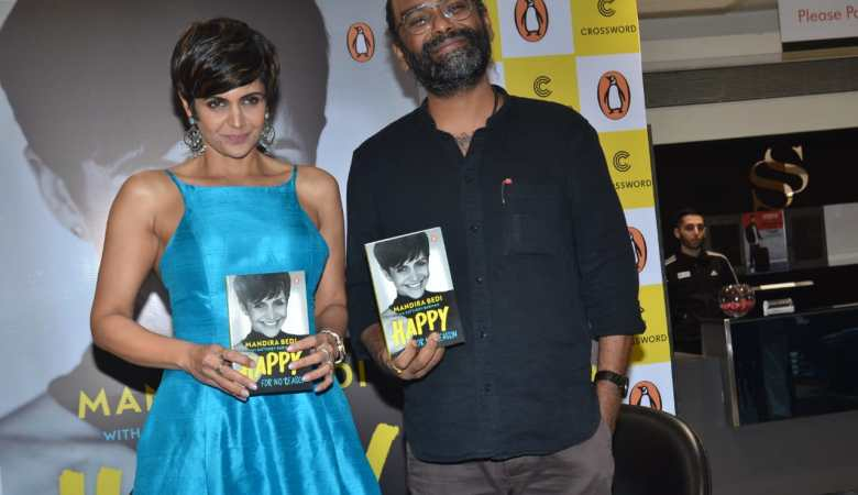 Mandira Bedi Published Her Book With Penguin HAPPY FOR NO REASON 2 1