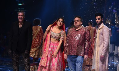 Sara Ali Khan with Abu Jani & Sandeep Khosla