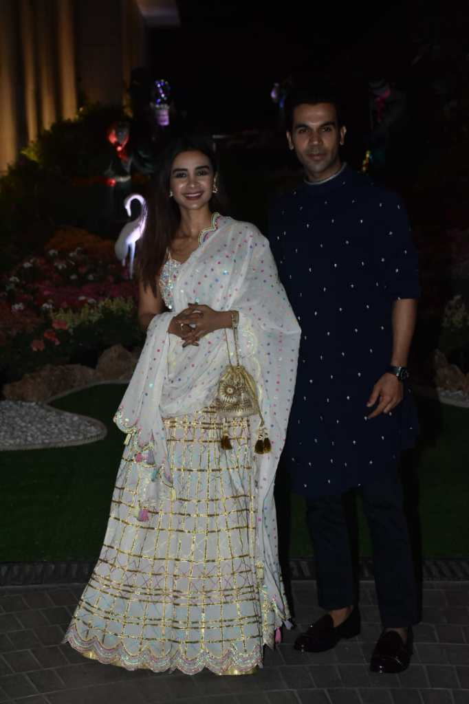 RajkummarRao at Isha Ambani Party