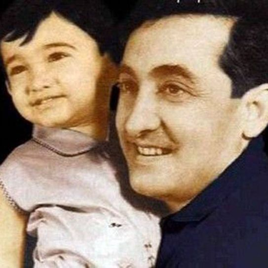 Aamir Khan's Picture with father tahir