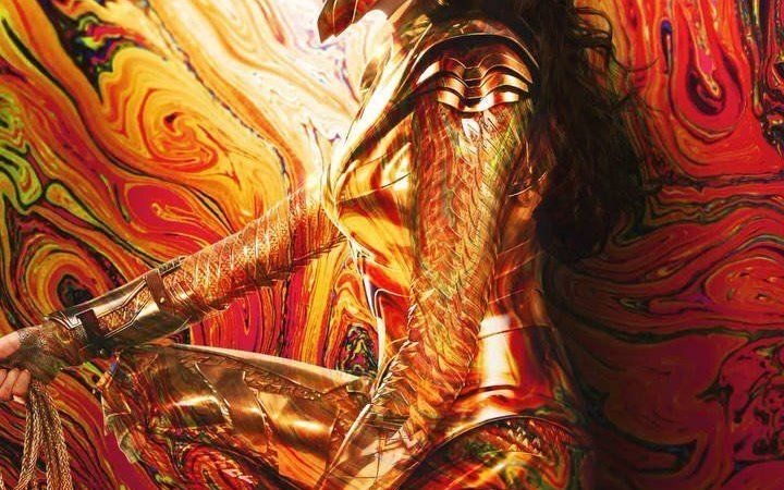 new wonder woman 1984 poster features gal gadot in her gold armor2