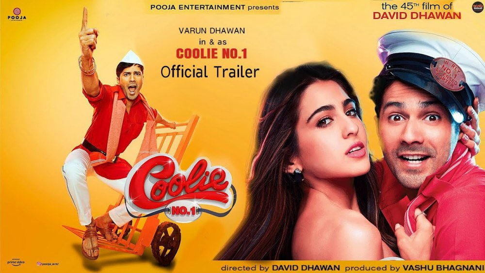 varun dhawan gives you a glimpse into the coolie no 1 sets