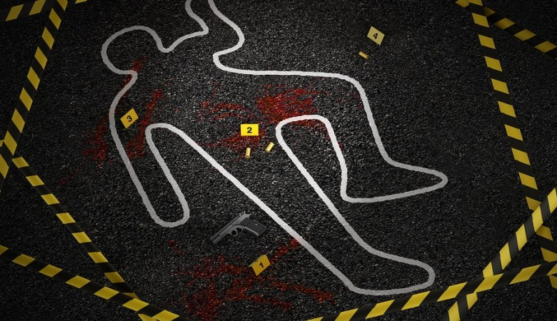 Crime Scene Of A Murder Case