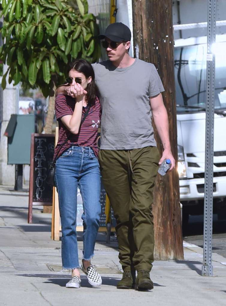 Emma Roberts Seen out for lunch with Garrett Hedlund in Los Angeles 17