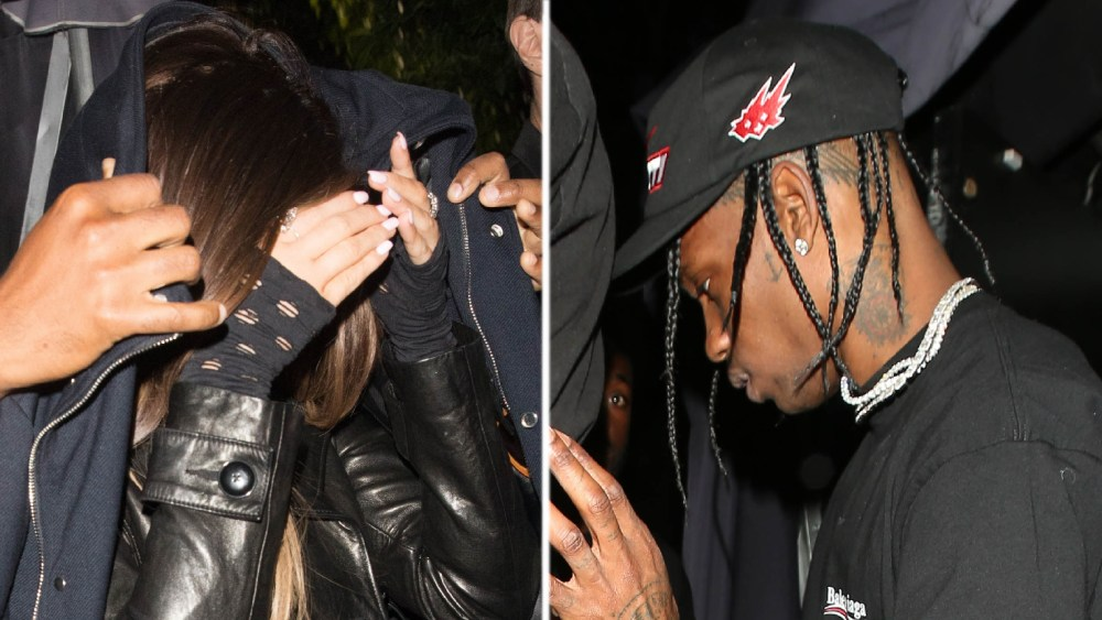 Kylie Jenner Travis Scott Spotted Leaving L A Hotspot Together