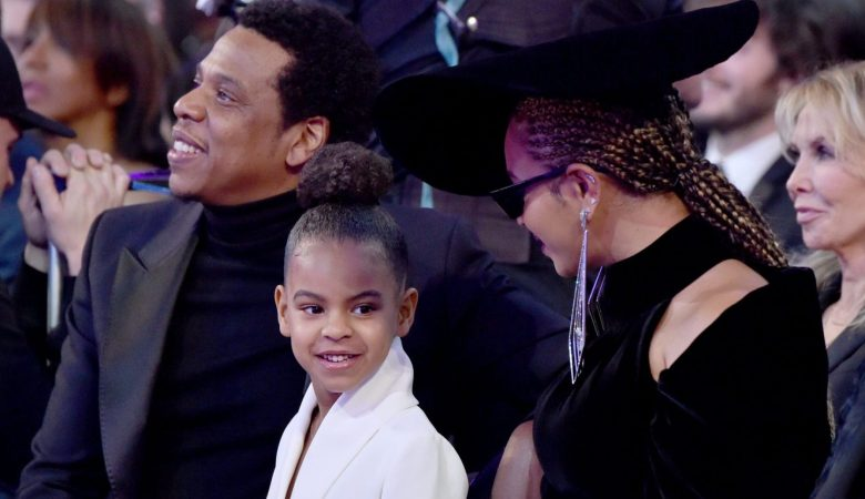 blue ivy beyonce art auction