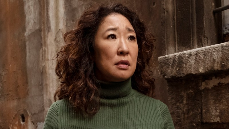 sandra oh the chair