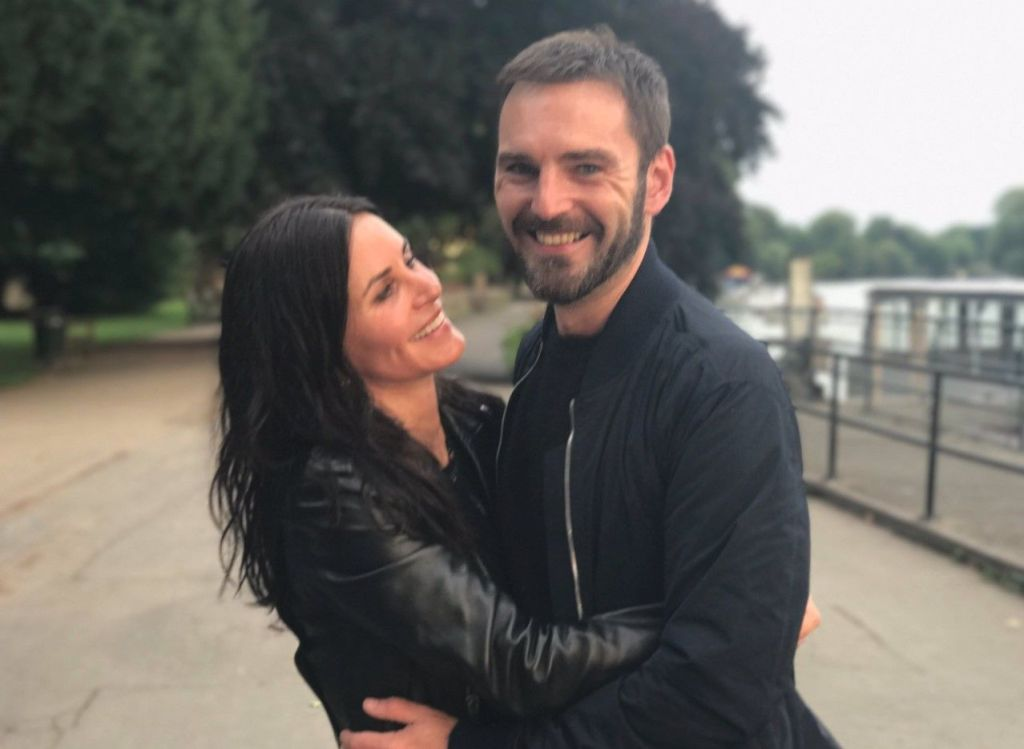 Courtney Cox Johnny McDaid CC Twitter