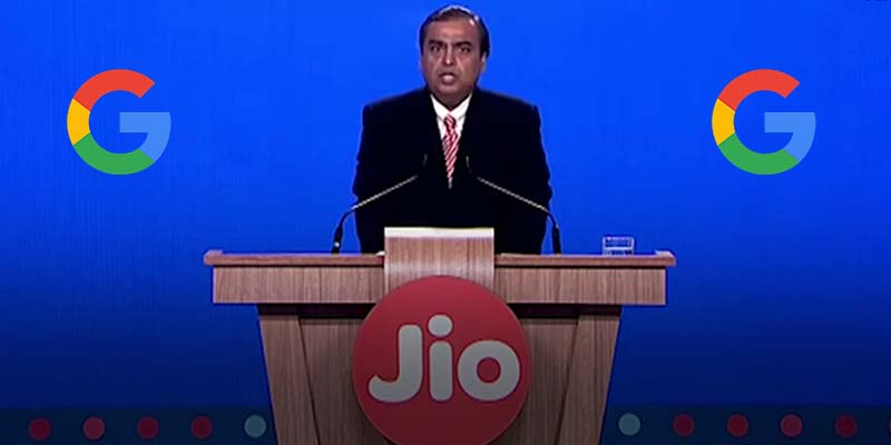 Google planning invest Jio Platforms.