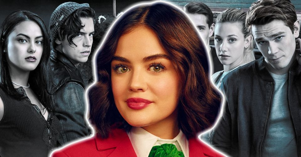 Lucy Hale as Katy Keene and Riverdale cast