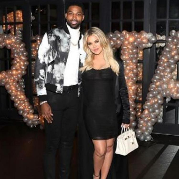 khloe kardashian and tristan thompson attend a friends party together reconciliation rumours are true
