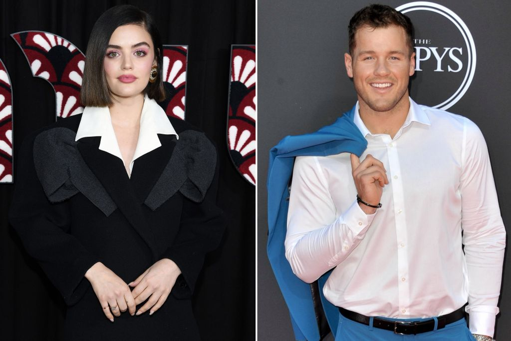 lucy hale colton underwood