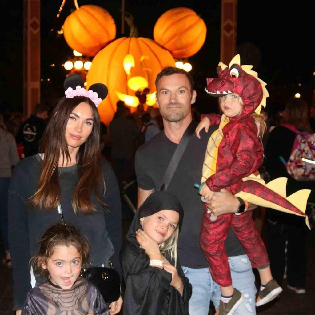 megan fox brian austin green kids