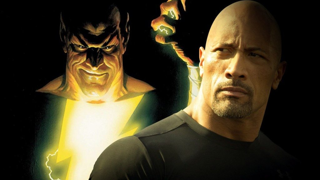 shazam dwayne johnson wont cameo as black adam wt7w