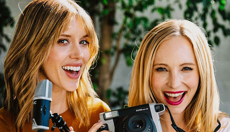 vampire diaries candice king kayla ewell podcast directionally challenged