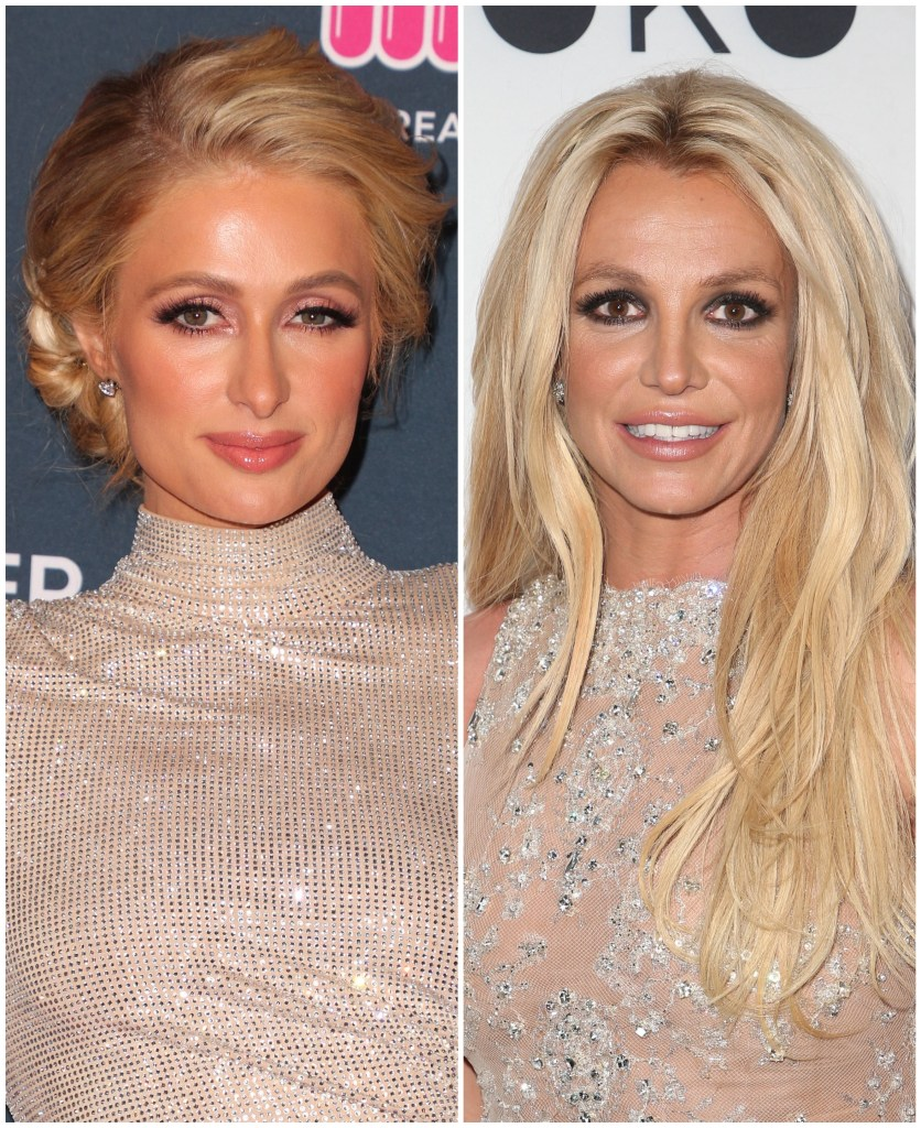 Paris Hilton Britney Spears